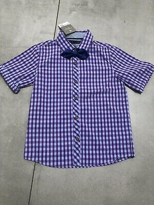BNWT NEXT Boys shirt And Bow Tie. Age 4-5 Years