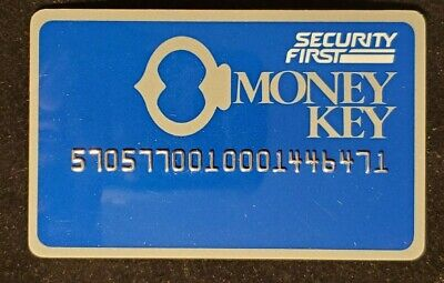 Security First Money Key Publix Teller♡Free Shipping♡cc969♡