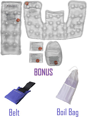 Heating Pad Reusable Click Heat Stays Hot For 45 Minutes Super Set Heat Packs