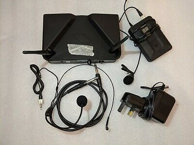 PROEL WM600H Wireless Microphone System & Cables Mics Vocals