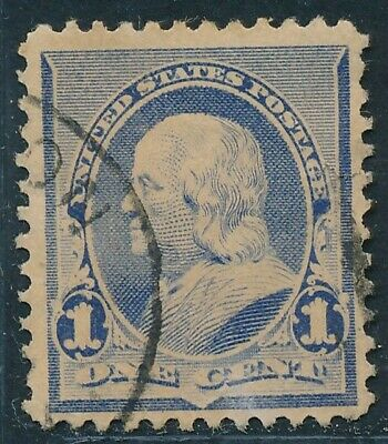 Dr Jim Stamps Us Scott 219 1C Franklin Used No Reserve Free Shipping