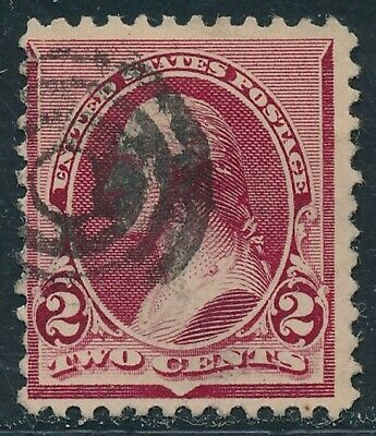 Dr Jim Stamps Us Scott 219D 2C Washington Used No Reserve Free Shipping