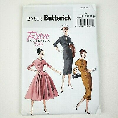 Butterick B6316 PATTERN Misses/' Sleeveless Fit and Flare Dresses Sizes  8-24