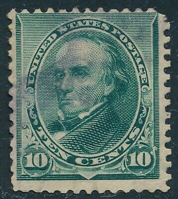 Dr Jim Stamps Us Scott 226 10C Webster Used Purple Cancel No Reserve