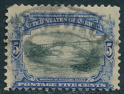 Dr Jim Stamps Us Scott 297 5C Pan American Exposition Used Thin No Reserve