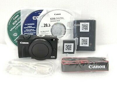 Canon EOS M2 18.0 MP Digital Camera - Black (Body Only)  [Very good] + battery+