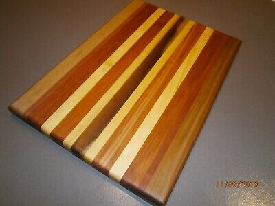 Huon Pine,Black Wood ,Myrtle,& Black Heart Sassafras Chopping Board.