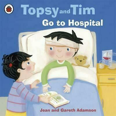 Topsy and Tim: Go to Hospital by Jean Adamson (English) Paperback Book Free Ship