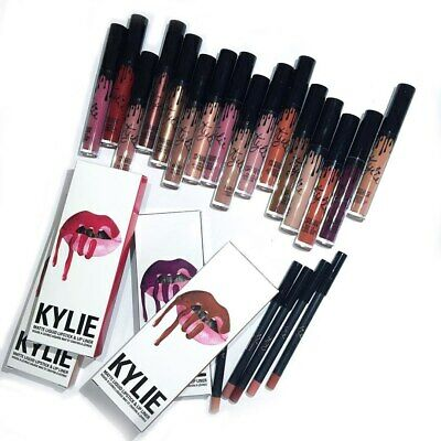Kylie Lip Kit: Lip liner and Lipstick - 37 different colours