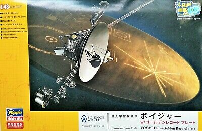 "NASA Interstellar Spacecraft ""Voyager""; Science World Hasegawa 1/48 Scale Model"