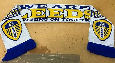Leeds Marching on Together Scarf - Made in UK