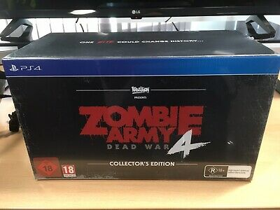 Zombie Army 4: Dead War Collector's Edition Sony PlayStation PS4 Game New Sealed