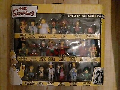 The Simpsons 20th Anniversary - 21 pvc figures gift set