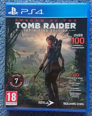 Shadow of the Tomb Raider: Definitive Complete Edition - Sony PS4 Game - UK PAL