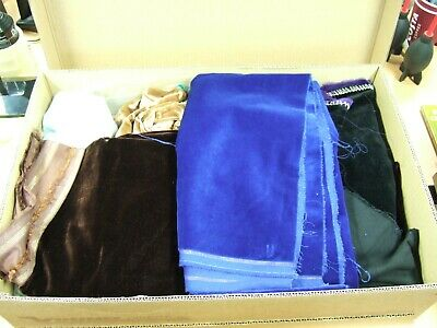 Large box velvet fabric for Photo backgrounds in studio, various colours & sizes