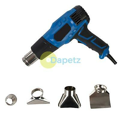 Heavy Duty 2000W Hot Air Heat Gun Paint Wallpaper Remover Stripper Power Tool