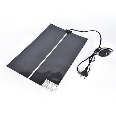 1x Heat Mat Reptile Brooder Incubator Heating Pad Warm Heater Pet Supply 5W~2 IO