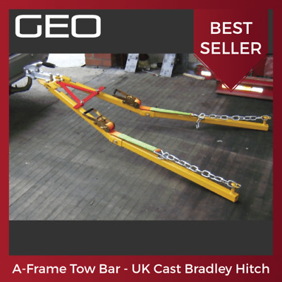 A Frame Tow Bar / Towing Dolly (Genuine KNOTT Euro Cast Steel Hitch) 2.5 Tonne