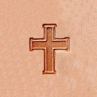 3D Stempel Kreuz Cross Leder Tandy Leather 88338-00