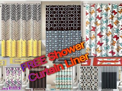 15 Piece Bathroom Set With FREEE Shower Liner Included!!! Over 20 Designs !!!