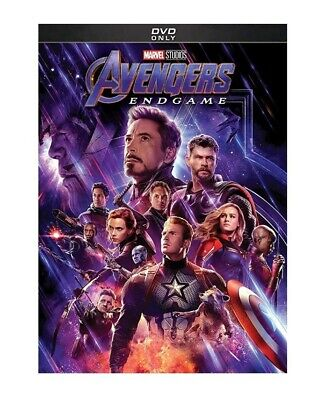 Avengers: End Game (DVD, 2019) New & Sealed