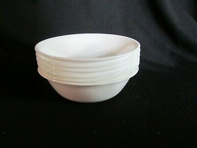 Corelle Winter Frost White Set Of 6 Cereal Bowls 3 Sets Available