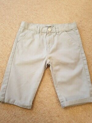 Boys Denim & Co Pale Blue Shorts Age 10 - 11 (A)