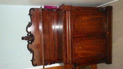 Antique Chiffonier - Sideboard, English, Victorian, Mahogany, Dresser - cir 1850