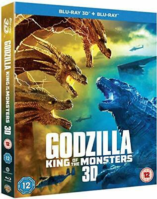 Godzilla - King Of The Monsters [Bluray 3D+2D] New & Sealed With Slipcover