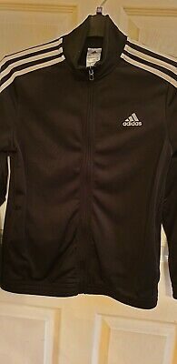 Boys Or Girls Black Adidas Tracksuit Age 13-14