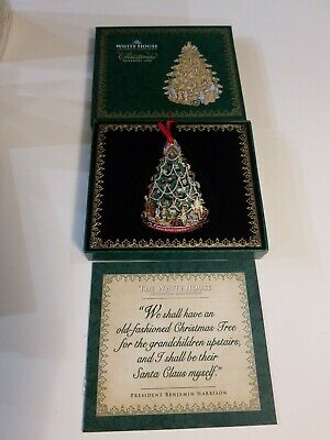 The White House Historical Association 2008 Christmas Ornament Tree Beautiful