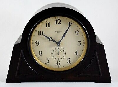 ART DECO INGERSOLL DUO ALARM CLOCK c1920