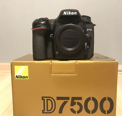 Nikon D7500 20.9MP DX-Format CMOS Sensor Digital SLR Camera