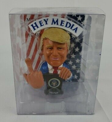Donald Trump Doll This Bobblehead Trump Has A Bobbling Middle Finger Instead