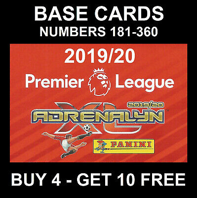 Panini Premier League Adrenalyn Xl 2019/20 Base Card/S 180-360 2019/2020