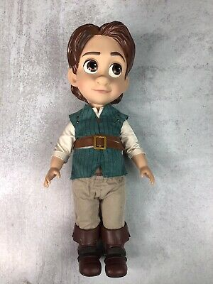 Disney Authentic Tangled Flynn Rider Animators Collection Toddler Doll Figure