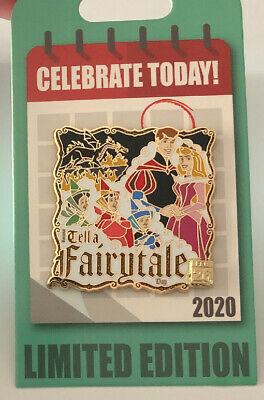 Disney Parks Sleeping Beauty Celebrate Today 2020 Tell A Fairytale Day LE Pin