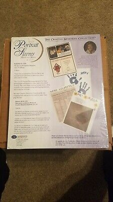 Creative Memories NEW 12 x 15 WHITE PORTRAIT SLEEVES - 5 Sheets