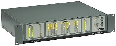 Inovonics Omega FM Broadcast/Production AES Digital On Air Multiband Processor