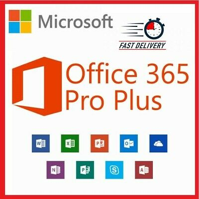 Microsoft Office 365 2019 🔥 Pro Lifetime 5 Devices Pc/Mobile ✅