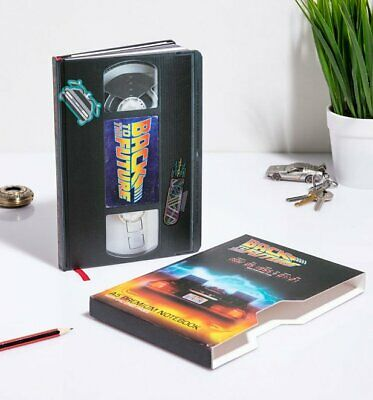 Official Back to the Future VHS Notebook