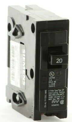 "Q120 - Siemens / ITE  Plug-In Circuit Breaker ""2 Year Warranty"""