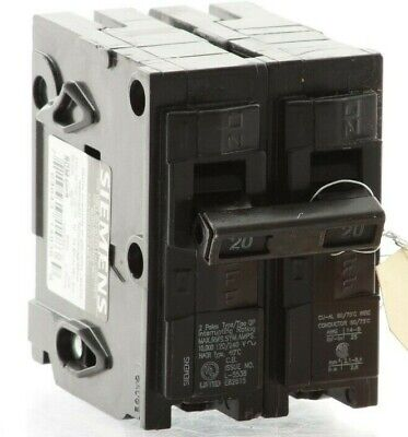 "Q220 Q-220 - Siemens / ITE  Plug-In Circuit Breaker ""2 Year Warranty"""