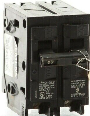 "Authentic Siemens Q260 -  ITE  Plug-In Circuit Breaker ""2 Year Warranty"""