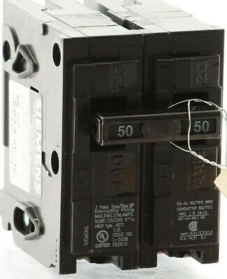 "Authentic Q250 Q-250 - Siemens / ITE  Plug-In Circuit Breaker ""2 Year Warranty"""