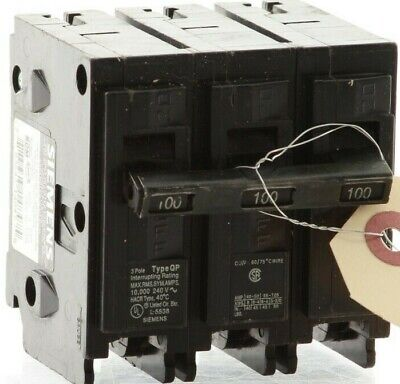 "Authentic Siemens Q3100 -  ITE  Plug-In Circuit Breaker ""2 Year Warranty"""
