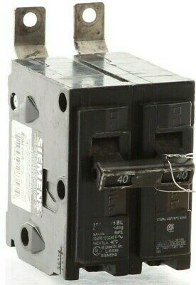 "Authentic Siemens B240 -  ITE  Plug-In Circuit Breaker ""2 Year Warranty"""