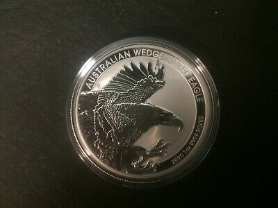 2020 Australian $1 Wedge Tailed Eagle 1oz .999 Silver Bullion Coin From Roll