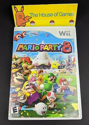 Mario Party 8 (Nintendo Wii, 2007) Complete with Manual Canadian Seller Pls Read