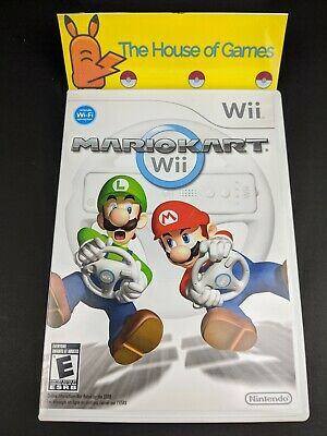 Mario Kart Wii (Nintendo Wii, 2008) Complete Manual Tested Canadian Sell Ps Read